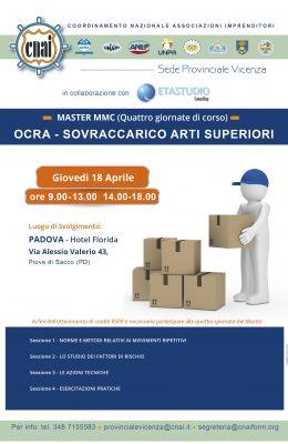LOCANDINA CNAI Vicenza 26 febbraio-03